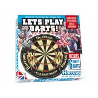 Taikinys LET'S PLAY DARTS GAME SET