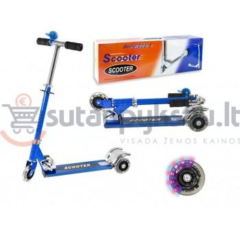 """Paspirtukas """"Scooter"""" mėlynas"""