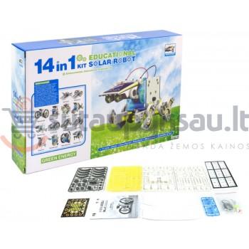 """Konstruktorius """"Saulės energijos robotas 14 in 1"""""""